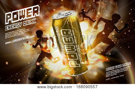 Power Drink Golden