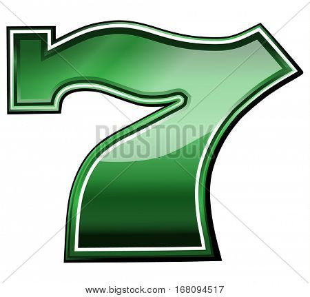 Slots lucky 7 symbol