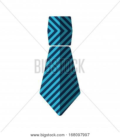 necktie man geometric shape father day vector illustration eps 10