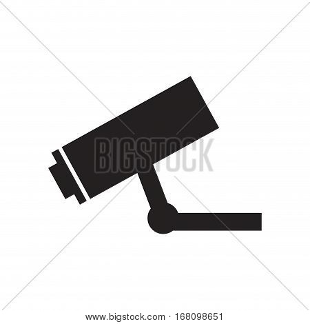 camera surveillance security vigilance pictogram vector illustration eps 10