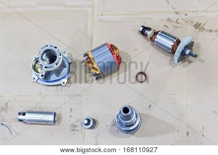 Copper Coil Of Electrical Motor ,spare Part
