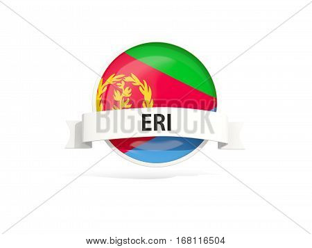 Flag Of Eritrea With Banner