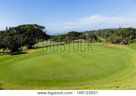 Golf Course Par 4
