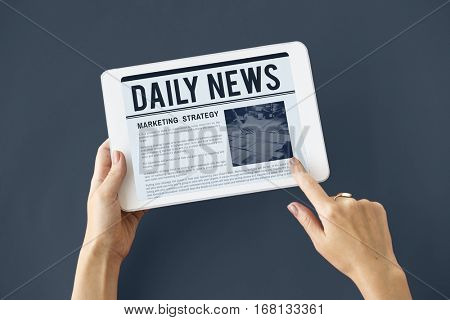 News Business Communication Marketing Concept
