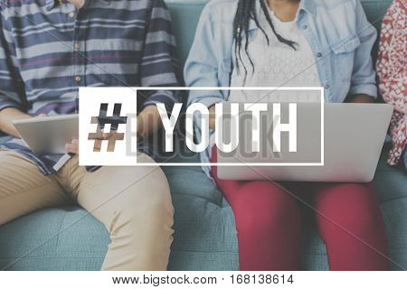 Youth Culture Young Adult Generation Teenagers poster