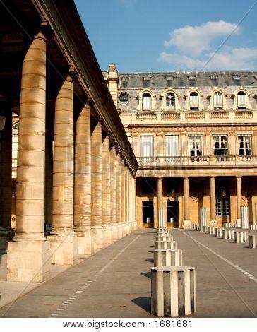 Stoa And Columns In Royal Palace, Paris