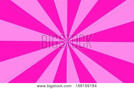 Vector illustration. Abstract background. Divergent beams. Different colors.