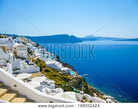 Hdr Oia Ia In Greece
