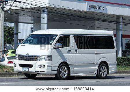 Private Toyota Ventury Van.