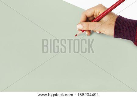 Hand Pencil Drawing Sketching Creative