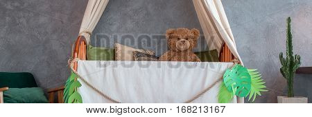 Baby Bed With Canopy