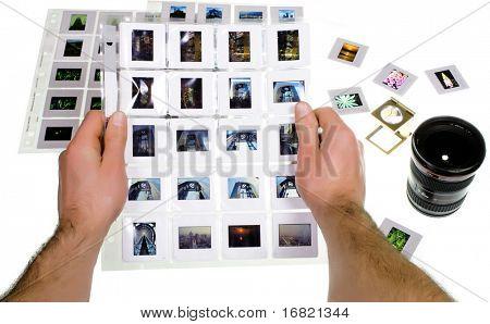 selección de diapositivas