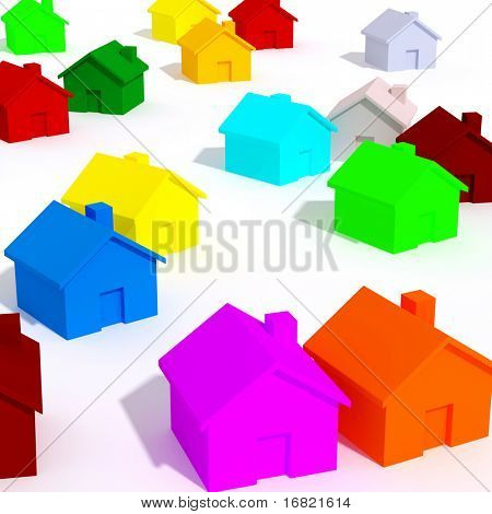 color house background
