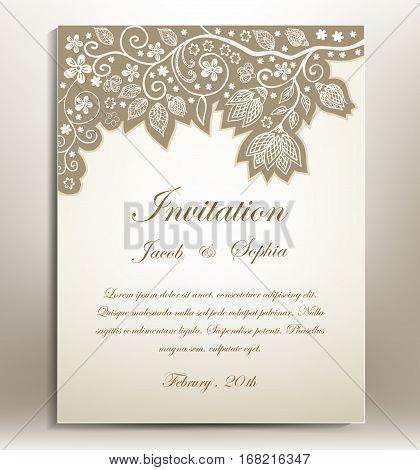 Hand Drawn Invitation.eps