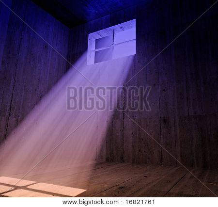 Jail color background