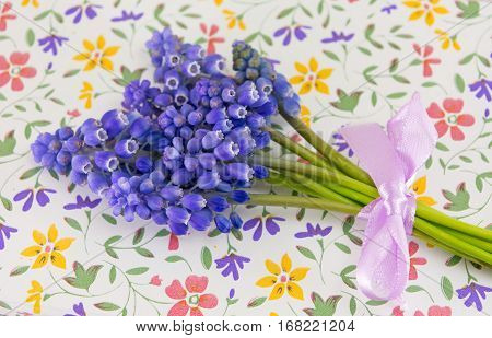 Spring Flowers On Top Of Flower Pattern Case