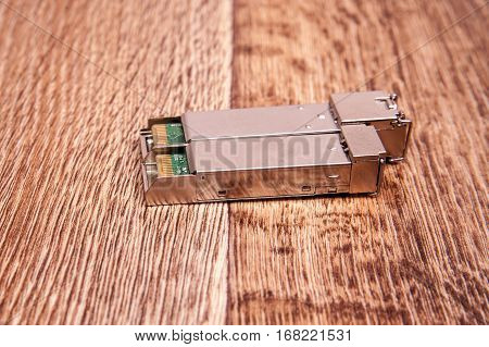 Optical gigabit SFP module for network switch