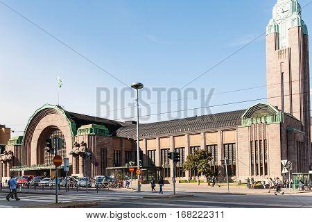 Rautatieasema (central Railway Station), Helsinki
