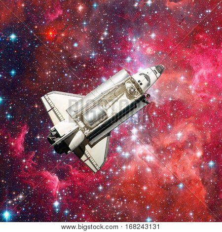 Space Shuttle. Elements Of This Image Furnished By Nasa