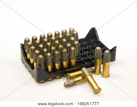 Projectiles for sport small bore rifle in box