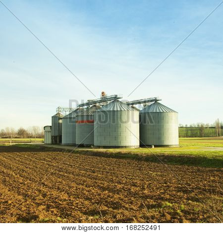 Silos For Agricultural Products