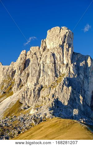 La Gusela Mountain, Passo Giau, Dolomites
