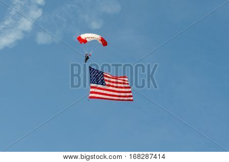 Fort Worth Texas Sept 12 2015 United States of America Bell Helicopter Alliance Air Show Opening Celebration