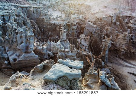 Unusual Fantasy Canyon in the Utah desert, USA.