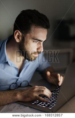 Browsing at night