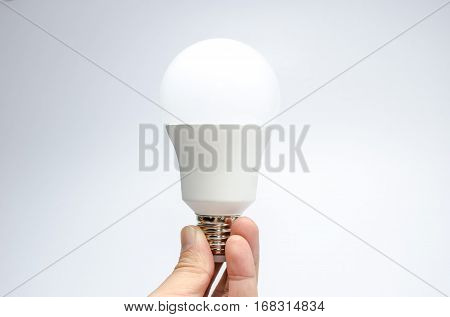 save energy technology white Tungsten lamp creative idea