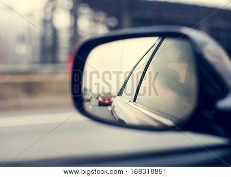 Mirror Car Automotive Viewer Vehicle