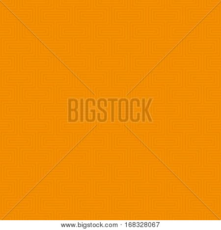 Orange Classic seamless pattern. Neutral tileable linear vector background.
