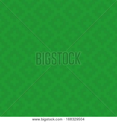 Green Squares Pixel Art Pattern. Checked Neutral Seamless Pattern for Modern Design in Flat Style. Tileable Geometric Vector Background.
