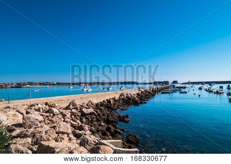 Portugal - Harbor And Fishing Boats