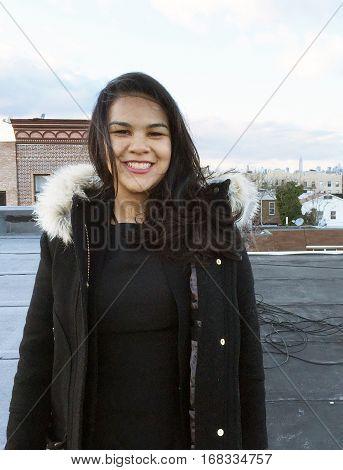 Beautiful Latina Businesswoman