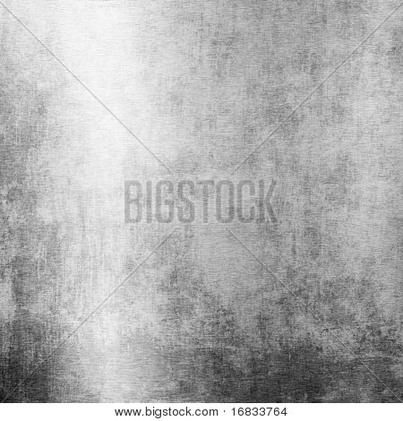 Grunge brushed metal plate (Industrial iron background)