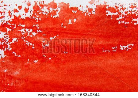 Red and White Watercolour Background 4