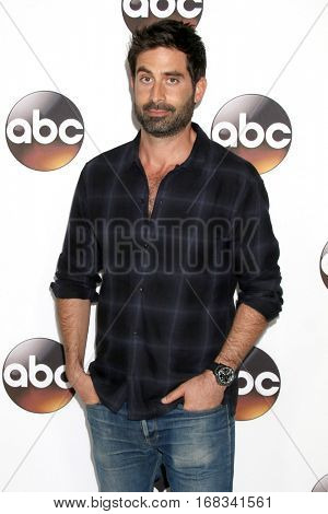 LOS ANGELES - JAN 10:  Stephen Schneider at the Disney/ABC TV TCA Winter 2017 Party at Langham Hotel on January 10, 2017 in Pasadena, CA