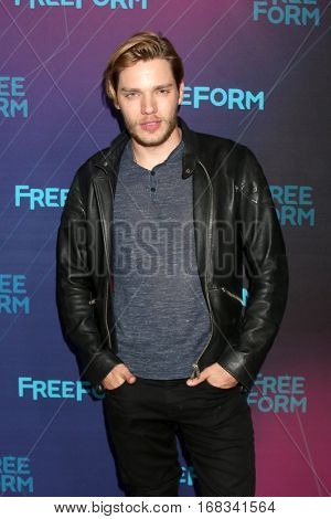 LOS ANGELES - JAN 10:  Dominic Sherwood at the Disney/ABC TV TCA Winter 2017 Party at Langham Hotel on January 10, 2017 in Pasadena, CA