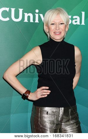 LOS ANGELES - JAN 17:  Joanna Coles at the NBC/Universal Cable TCA Winter 2017 at Langham Hotel on January 17, 2017 in Pasadena, CA