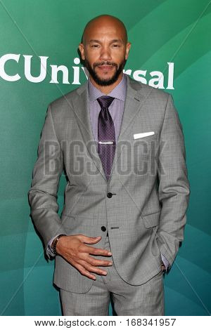 LOS ANGELES - JAN 17:  Stephen Bishop at the NBC/Universal Cable TCA Winter 2017 at Langham Hotel on January 17, 2017 in Pasadena, CA