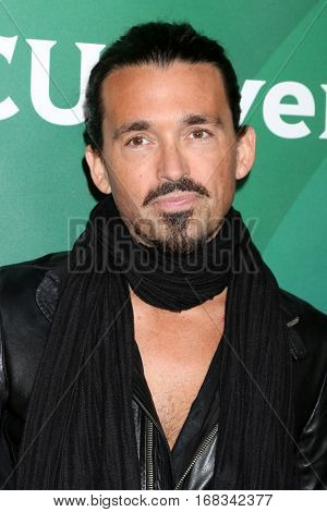 LOS ANGELES - JAN 17:  Sidney Torres at the NBC/Universal Cable TCA Winter 2017 at Langham Hotel on January 17, 2017 in Pasadena, CA