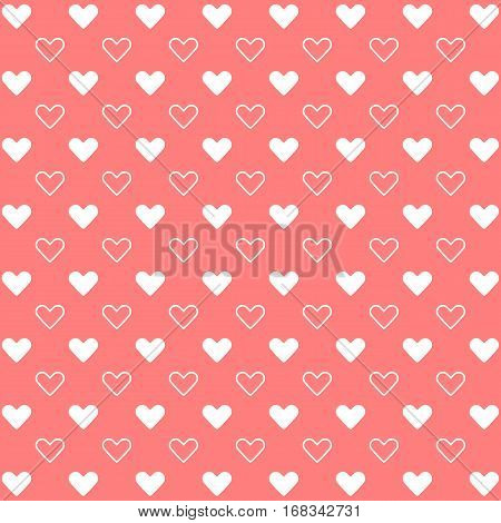 Sweet heart for valentine background stock vector