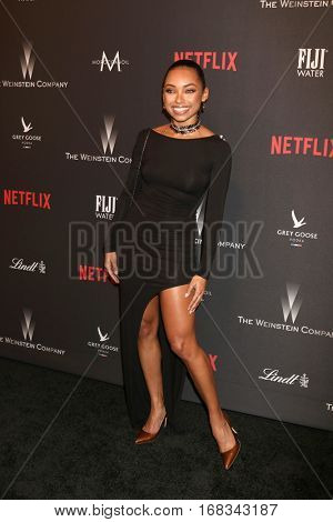 LOS ANGELES - JAN 8:  Logan Browning at the Weinstein And Netflix Golden Globes After Party at Beverly Hilton Hotel Adjacent on January 8, 2017 in Beverly Hills, CA