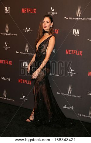 LOS ANGELES - JAN 8:  Nickayla Rivera at the Weinstein And Netflix Golden Globes After Party at Beverly Hilton Hotel Adjacent on January 8, 2017 in Beverly Hills, CA