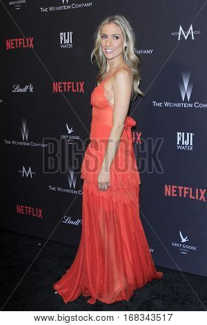 LOS ANGELES - JAN 8:  Kristin Cavallari at the Weinstein And Netflix Golden Globes After Party at Beverly Hilton Hotel Adjacent on January 8, 2017 in Beverly Hills, CA
