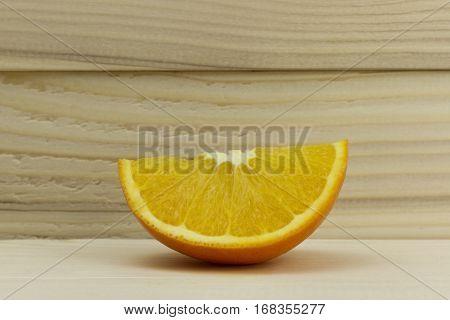 cut fresh juicy natural sour orange tripical
