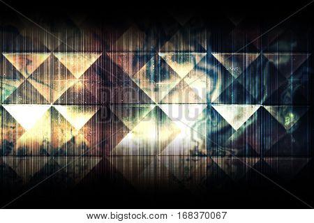 Abstract Dark Grungy Background Cg