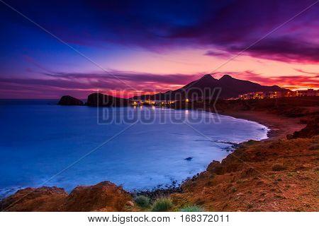 La Isleta Del Moro Coast -almeria, Spain.