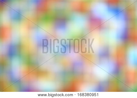 blurred colorful background in red, blue, green